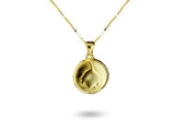 """Kalika"", The Bud Necklace Yellow Gold"