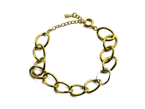 """Chiara"" The Bright One,Bracelet in Yellow Gold"