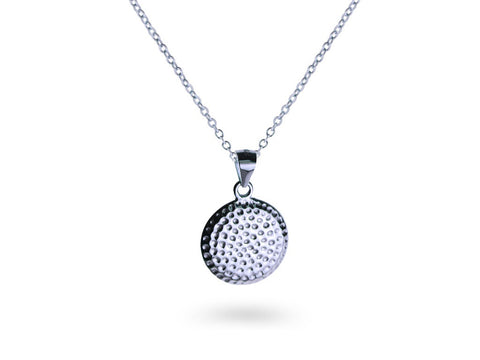 """Armanie"", The Fashionable One Necklace White Gold"