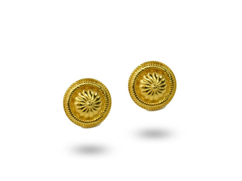 """Namita"", The Humble One Earrings Yellow Gold"