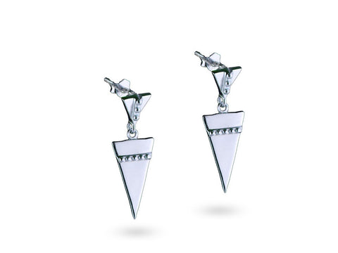 """Anippe"",  Earrings White Gold"