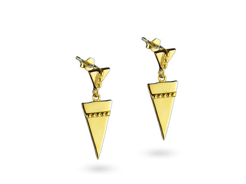 """Anippe"",  Earrings Yellow Gold"