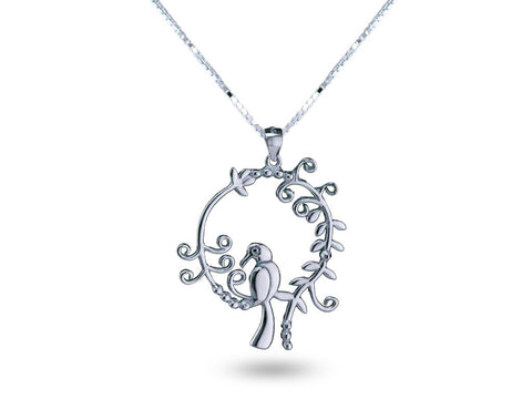 """Daksha"", The Talented One Necklace White Gold"