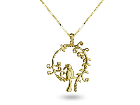 """Daksha"", The Talented One Necklace Yellow Gold"