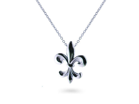 """Kortney"", The Dignified Necklace White Gold"