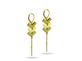 """Zyanya"" Forever, Earrings in Yellow Gold"