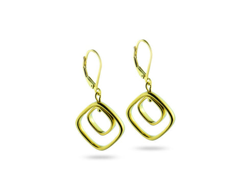 """Chiara"" The Bright One, Earrings in Yellow Gold"