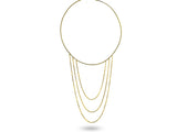 """Caterina"", Pure Necklace in Yellow gold"