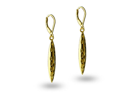 """Geetika"", Song Earrings Yellow Gold"