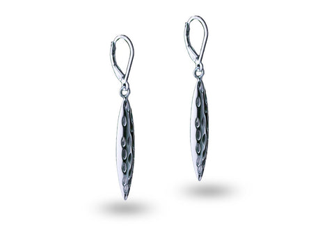 """Geetika"", Song Earrings White Gold"