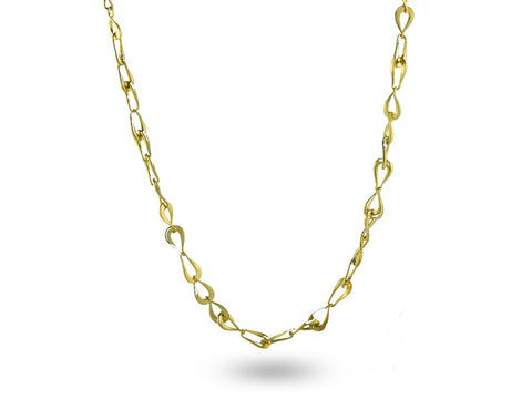 """Rosabella"" The Rose, Necklace in Yellow Gold"