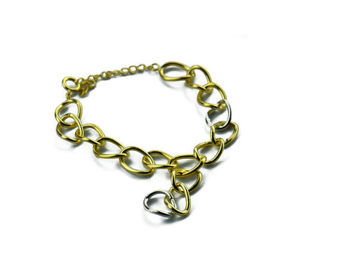 """Chiara"" The Bright One, Bracelet in Yellow Gold"