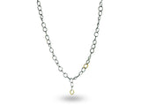 """Chiara"" The Bright One, Necklace in White Gold"