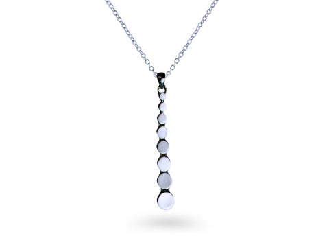 """Alanis"", The Shining Star Necklace White Gold"