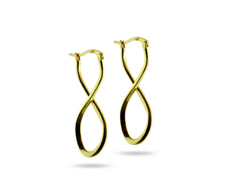 """Caterina"", Pure Earrings in Yellow Gold"