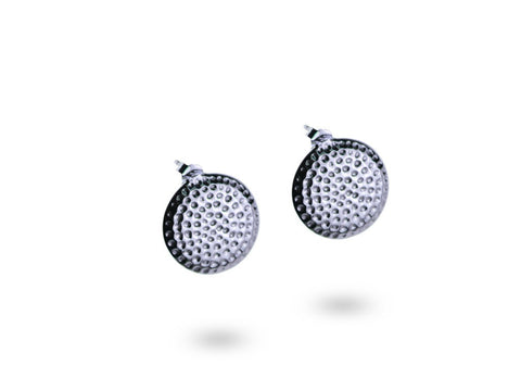 """Armanie"", The Fashionable One Ear Studs White Gold"