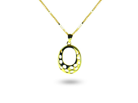 """Shantay"", The Enchanted Necklace Yellow Gold"