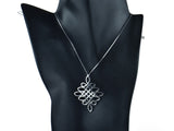 """Jie"", The Divine Knot Necklace I"