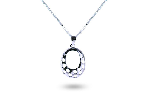 """Shantay"", The Enchanted Necklace White Gold"