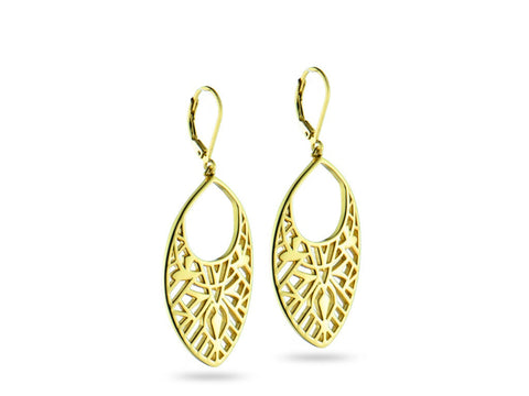 """Nelli"" Truth, Earrings in Yellow Gold"