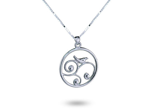 """Karishma"", The Miracle Necklace White Gold"