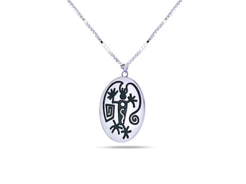 """Angeni"",The Spirit Necklace White Gold"