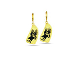 """Eagle"", Symbol of Bravery and Carrier of Prayers Earrings"