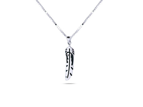 """Feathers"", Symbol of Honor and Creative Force Necklace"