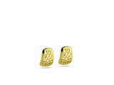 """Felisa"", Lucky Earrings in Yellow Gold"