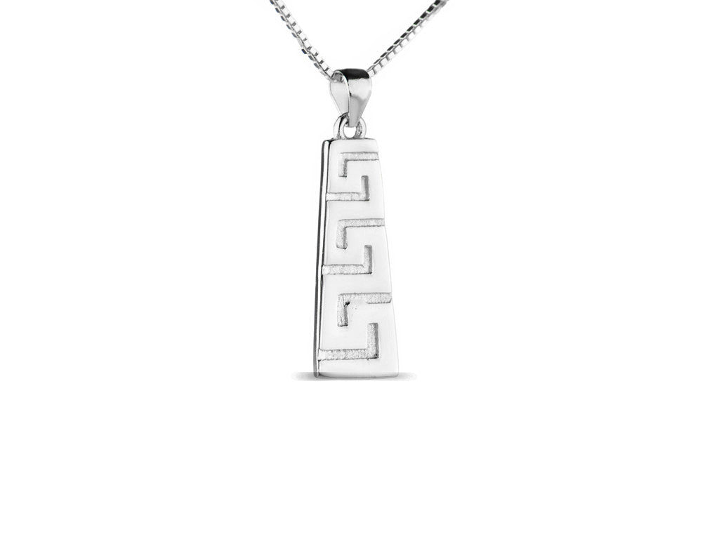 Meandros key the symbol of eternity necklace in white gold meandros key the symbol of eternity necklace in white gold biocorpaavc