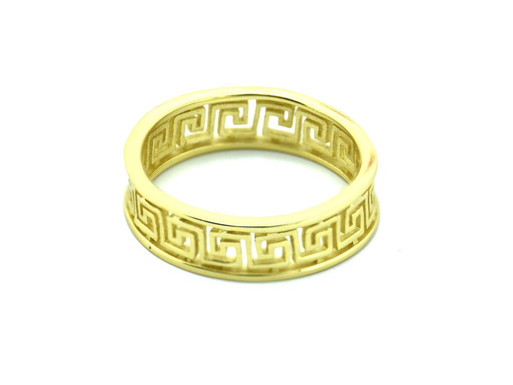 Meandros key the symbol of eternity ring in yellow gold vivir meandros key the symbol of eternity ring in yellow gold biocorpaavc
