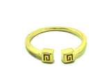 """Meandros"" Key- The Symbol of Eternity Ring in Yellow Gold"