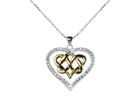 """The Infinity"" Forever Love Knot Necklace"