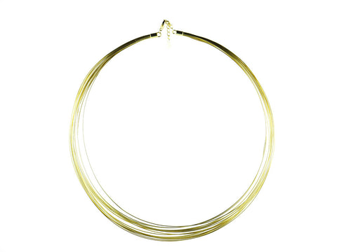 """Jelani"", The Mighty Necklace Yellow Gold"