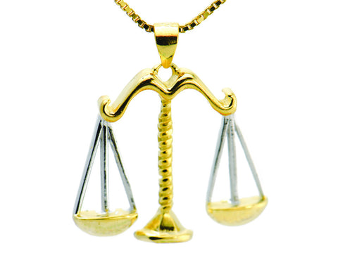 """Libra"" The Balanced One, Necklace I"