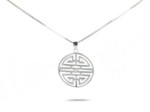 """Shou"", Longevity Necklace"