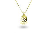 """Felisa"", Lucky Necklace Yellow Gold"