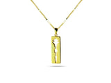 """Son de l' amour"", Sound of Love Necklace Yellow Gold"