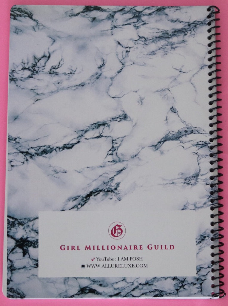 GIRL MILLIONAIRE JOURNAL BY:POSH