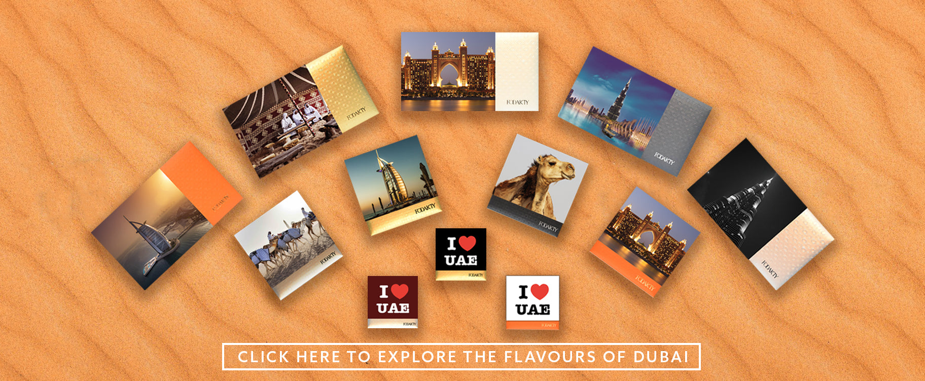 Dates gift box Flavors of Dubai