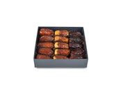 inside-onyx-PlainDates Plain-Dates The-box-contains-Sukary-Khalas-Sagai-Majdool-Dates