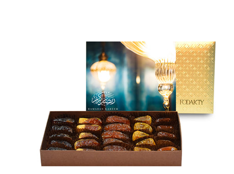 Ramadan Lantern Medium Rectangle Date Gift Box
