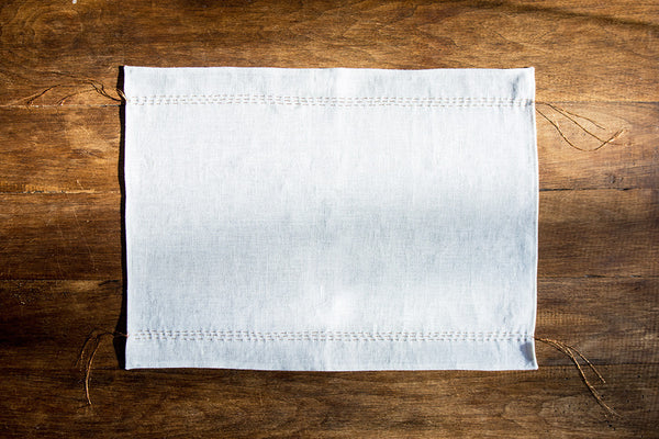 Cloud + Copper Linen Placemat