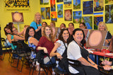 3-hour EXPRESS PAINT ZONE PAINTING PARTY - Rutherford, North New Jersey Canvas Painting Class