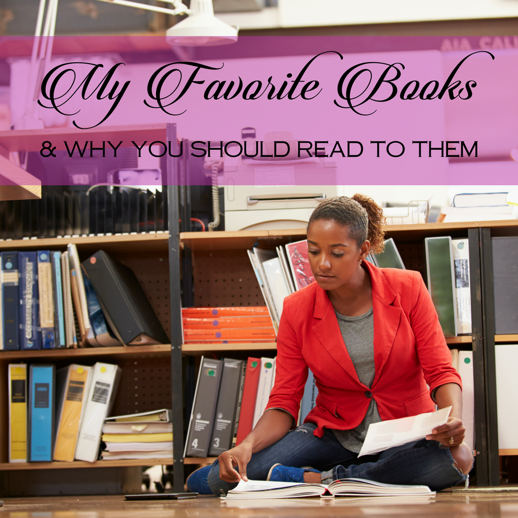 My Favorite Books and Why You Should Read Them