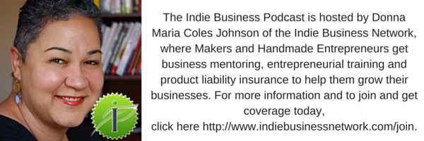 Donna Maria Coles Johnson, CEO & Founder of Indie Business Network | Join Now