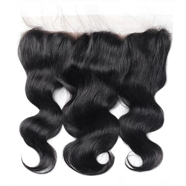 BBS Grade 8 Virgin Human Hair Body Wave Lace Frontal 13x4 - Beauty Bar & Supply