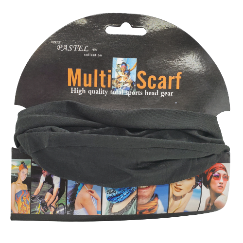 Pastel Collection Multifunctional Head Scarf-Solid Colors - Beauty Bar & Supply