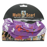 Pastel Collection Floral Multifunctional Headwrap-Assorted Colors - Beauty Bar & Supply
