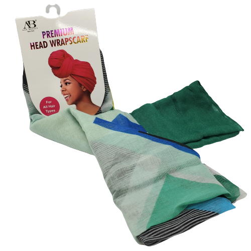 Ana Beauty Premium Head Wrap Scarf-Assorted Colors - Beauty Bar & Supply
